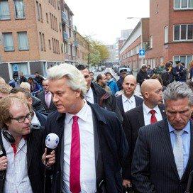 Geert Wilders bezoekt de Haagse Schilderswijk