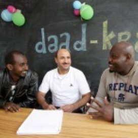 Mannencentrum in Amsterdam: 'Het draait om ontwikkeling'