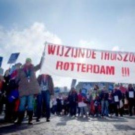 Thuiszorg protesteert in Den Haag