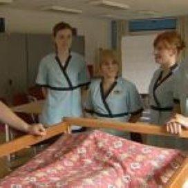 Poolse verzorgers in verpleeghuis