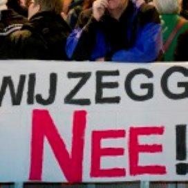 Thuishulpen Viva!Zorggroep gaan dag staken