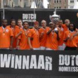 Voetbal verandert leven van daklozen