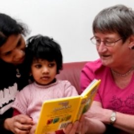 'Mijn man en ik lezen ons kind nu elke dag voor'