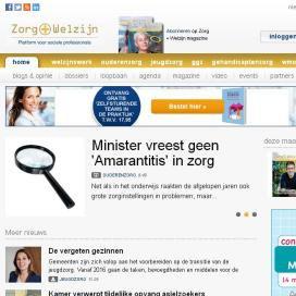 Website Zorg + Welzijn geheel vernieuwd