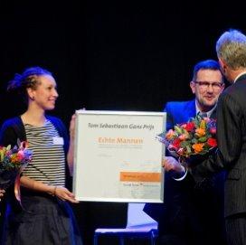 Tom Sebastian Gans Prijs voor project 'Echte Mannen'