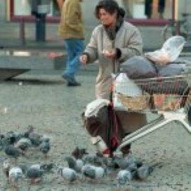 Daklozen protesteren tegen boetebeleid