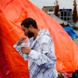 Asielzoekers Amsterdam in hongerstaking