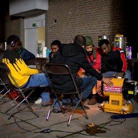Nieuw onderdak asielzoekers Amsterdam onzeker