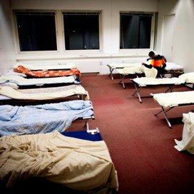 Ruim 160 daklozen in winteropvang Amsterdam