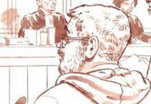 Benno L. in de rechtbank.