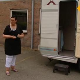 Thuiszorg vanuit een caravan