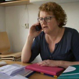 Annette Stekelenburg in het programma de Wachtkamer
