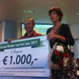 Opbouwwerker Wil Vugts wint sociaal werker award