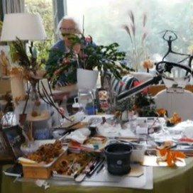 Verzorgingshuis vol kunstenaars