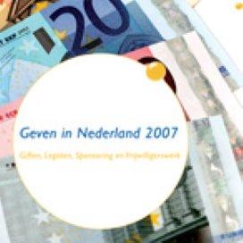 Nederlanders geven minder aan goede doelen