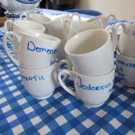 Koffie brengt mensen bij elkaar en levert mooie gesprekken op.