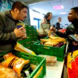 Voedselpakketten deze december geen vetpot