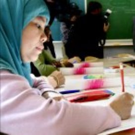 Aparte lessen voor vrouwen tijdelijk toegestaan