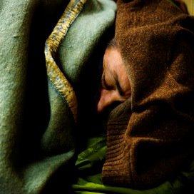 Daklozen weer uit de kou