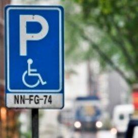 Gratis parkeren voor gehandicapten