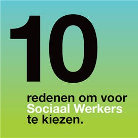 Tien redenen om te werken met sociaal werkers