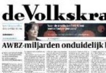 Branche verontwaardigd over ABWZ-artikelen Volkskrant