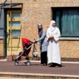 Peuter burgert in via moeder
