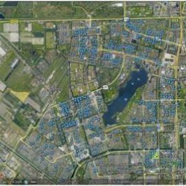 'We hebben een barometer ontwikkeld die met behulp van Google Earth en geografische gegevens van cliënten verschillende soorten sociaal demografische data kan presenteren.'