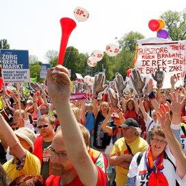 Ruim 5000 zorgmedewerkers bij manifestatie