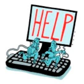 Hulpverleners verlegen met het web: Ik mail je wel