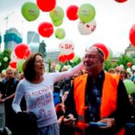 Dag van protest in Den Haag