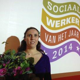 Jenny Zwijnenburg is Sociaal Werker 2014