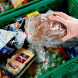 Magazijn Voedselbank Nederland raakt steeds leger