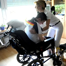 mantelzorger rolstoel