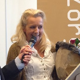 Antoinet Wijnakker is Sociaal Werker van het Jaar 2013