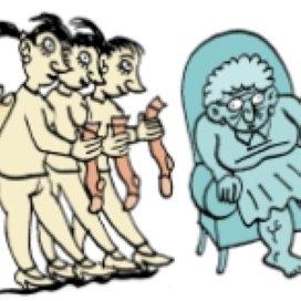 Werkdruk in de ouderenzorg moet omlaag