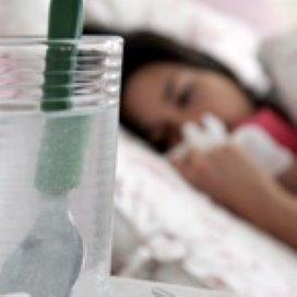 Niet doorwerken bij koorts en griep