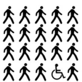 Voor mensen met een beperking blijft 'meedoen' lastig