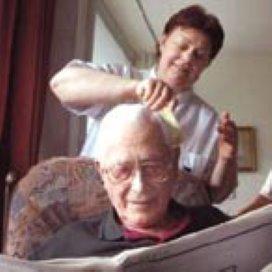 Acties van CNV-leden voor betere cao ouderenzorg