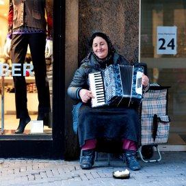 'Ook in Den Haag lijkt het bedelen een soort plaag te worden'