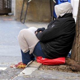 nieuwe groep daklozen