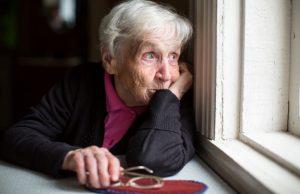 eenzame oudere