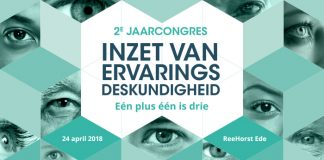 campagnebeeld 2e jaarcongres inzet ervaringsdeskundigheid