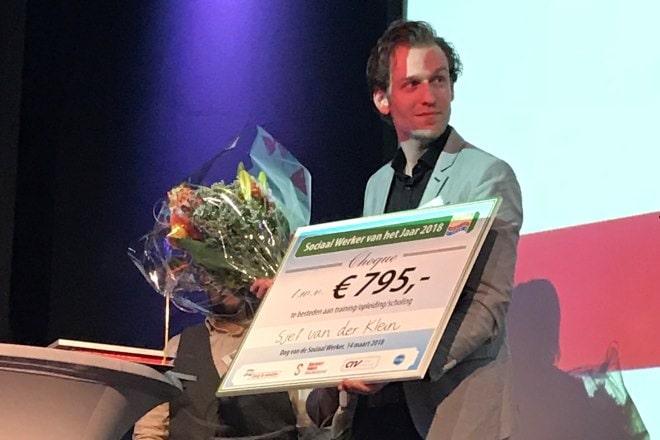 Sjef van der Klein is Sociaal Werker van het Jaar 2018