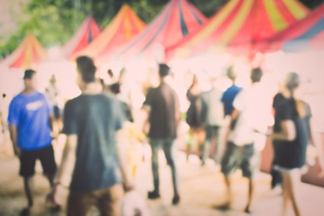 festivals beperking