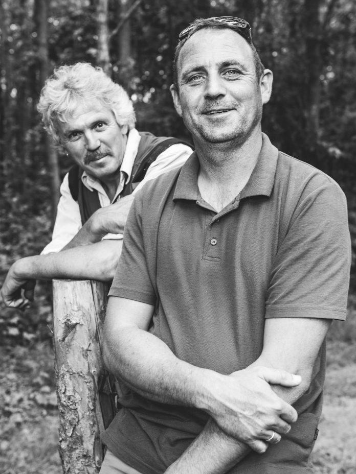 Foto van Frans de Vries en Harco Bergman door Jitske Schol