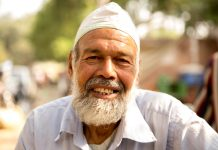 foto van oudere moslim man