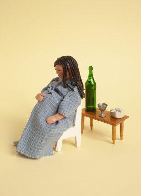 Illustratie van deClient_Alcoholverslaving. Illustratie: Ellen Mandemaker.