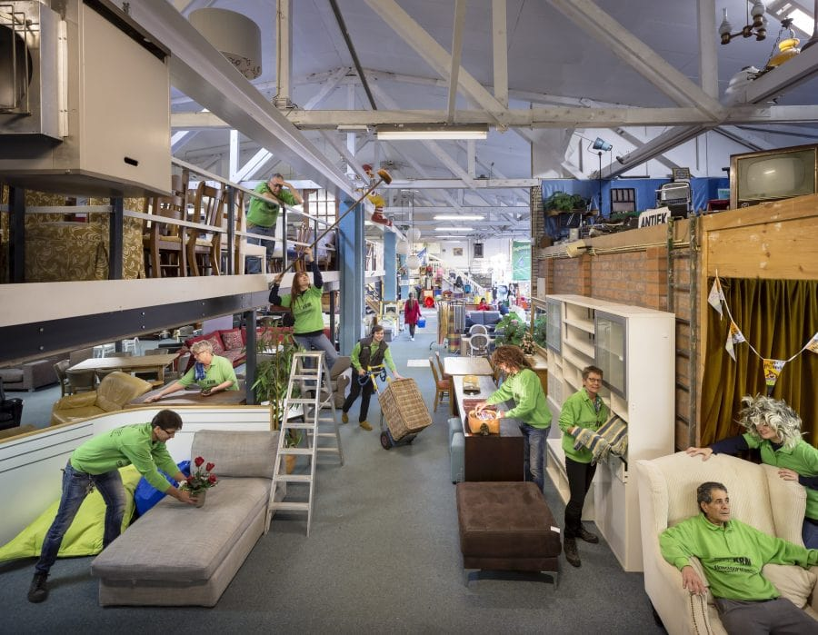 Utrecht ARM Kringloop Centrum Utrecht. Foto: Thijs Wolzak