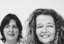 Foto van Inge van de Vorst en Wendie Huis in 't Veld. Foto: Jitske Schols